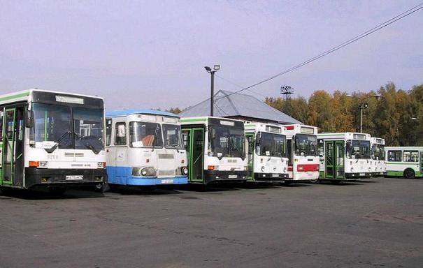 автобусного парка,